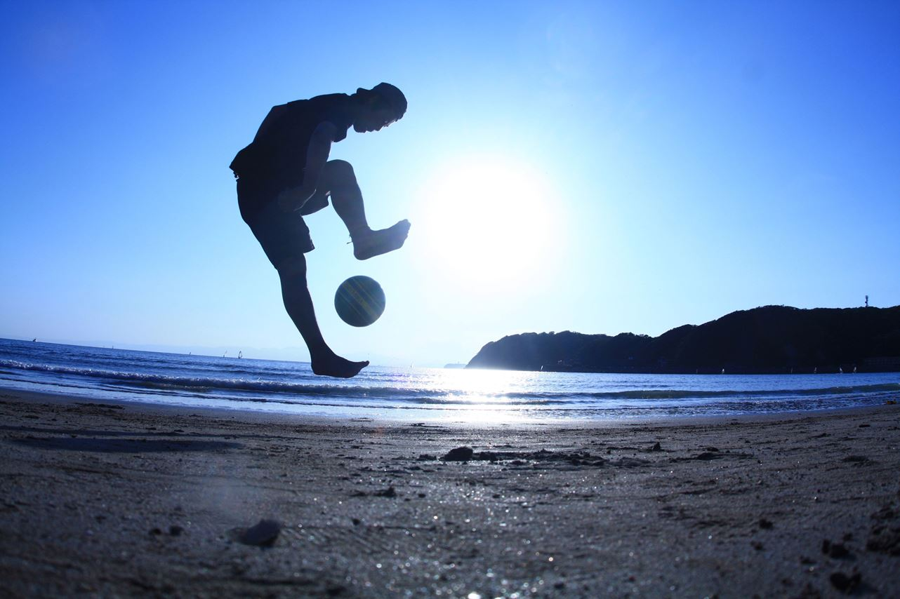 FOOTARTISTJU N ボールと遊ぶ