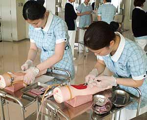 藤沢市立看護専門学校画像